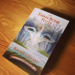novel The Swan-Bone Flute on a table